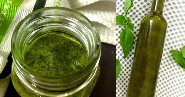 Easy Fragrant Homemade Basil Oil