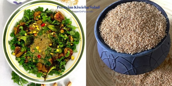 Peruvian Kiwicha Salad – Amaranth and Roasted Figs with Buttermilk Dressing