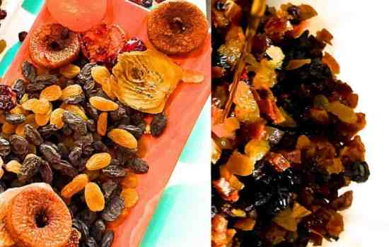 How to Soak Fruits for Christmas Fruit Cake