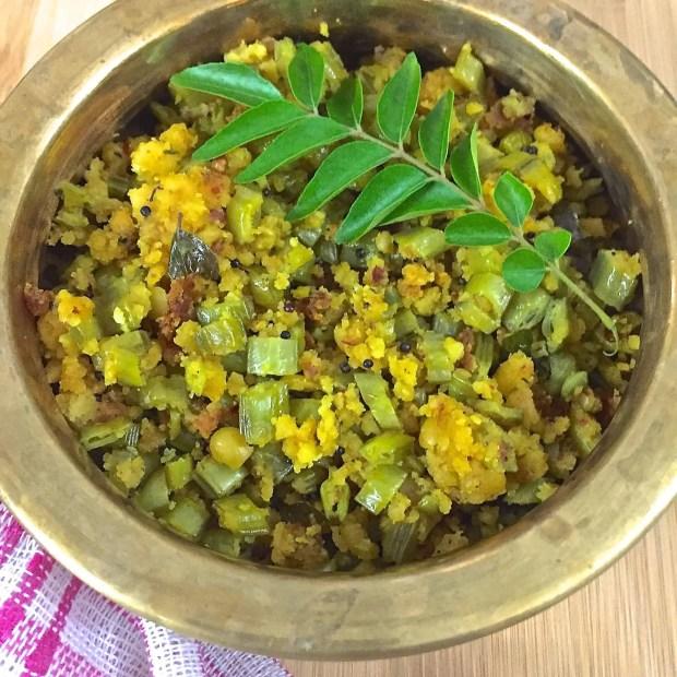 Cluster Beans Paruppu Usili_Paruppu Usili