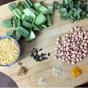 Pathiya Peerkangai Thogayal_ingredients