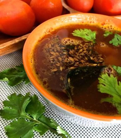 Spicy Tomato Rasam