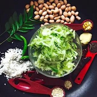 Raw Mango Rice or Mangai Sadam_ingredients