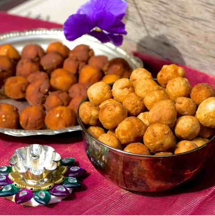 Uppu Seedai for Gokulashtami from Store bought flour with an easy recipe