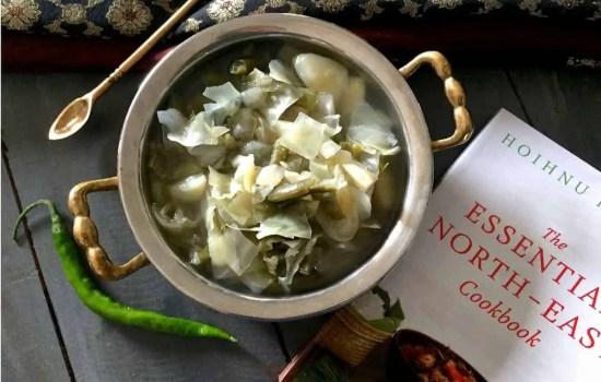 Oying Vegetable Stew From Arunachal Pradesh