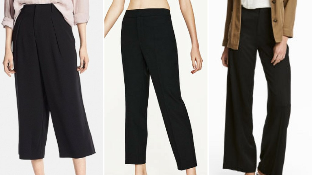 wardrobe essential trouser