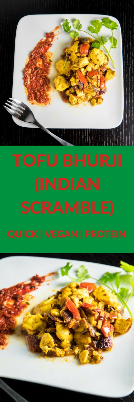 Tofu Bhurji - Healthy and Easy Indian scramble recipe