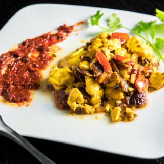 Tofu Bhurji | Easy and Healthy Indian Scramble Recipe