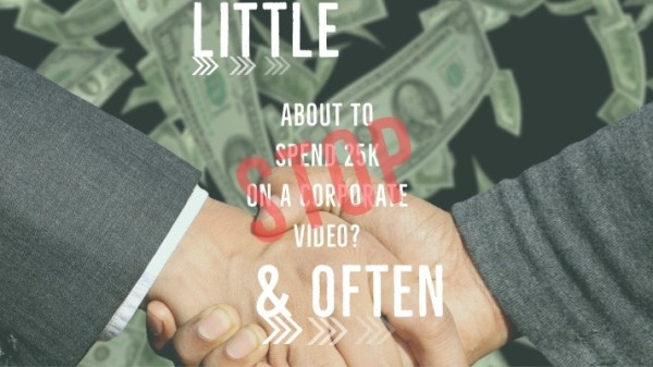 little and Often Video Marketing Strategy