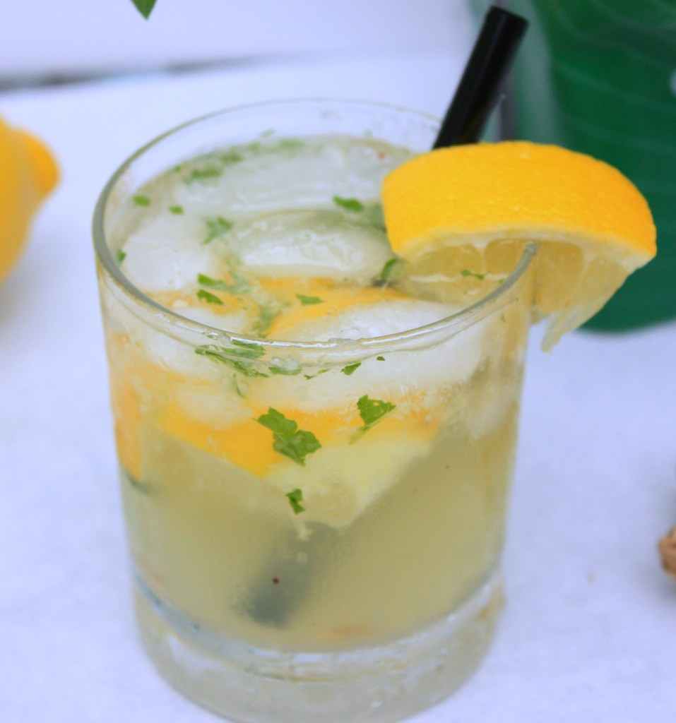 Ginger Mojito With a Twist….of Lemon