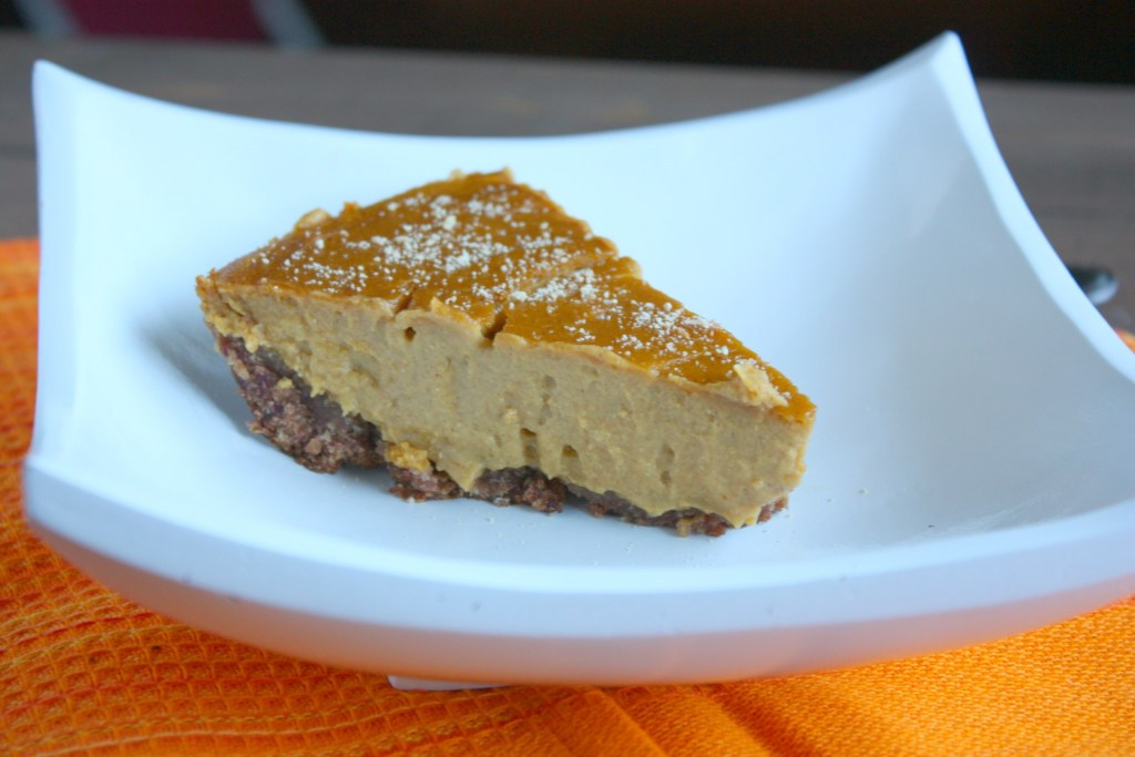 Healthy Pumpkin Pie