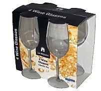 Set of 4 La Maison Wine Glasses