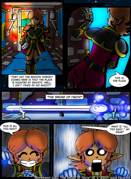 """""""The Sword of Truth"""" Page 3"""