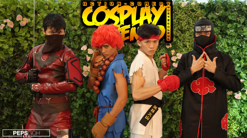Cosplay Themed Action Comedy Performance for HP