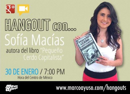 Sofía Macías Hangout