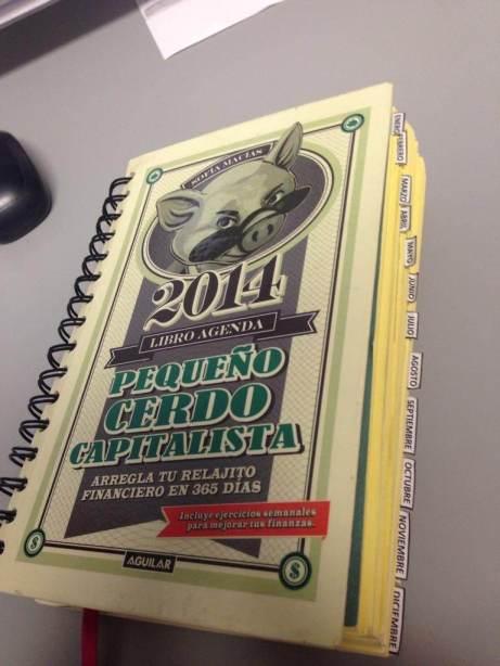 Libro agenda 2014 david