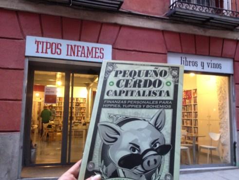 Tipos infames exterior Pequeño Cerdo Capitalista España
