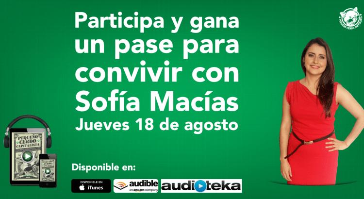 Gana un pase para conocer a Sofía Macías
