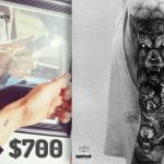 ¿Cuánto cuesta hacerte un tatuaje?