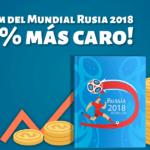 La inflación le pega ¡ hasta al álbum del Mundial 2018 !