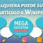 Cómo se hace un artículo de Wikipedia: Mega Editatón 2018