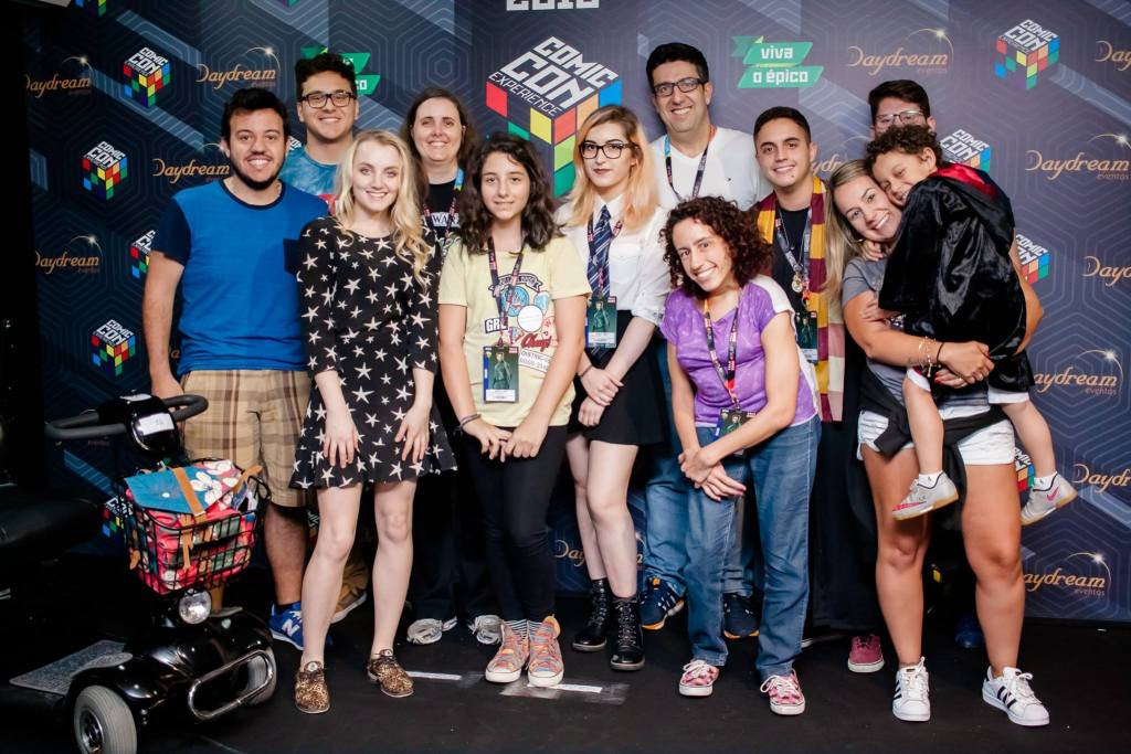 CCXP 2016 - Evanna Lynch Meet & Greet