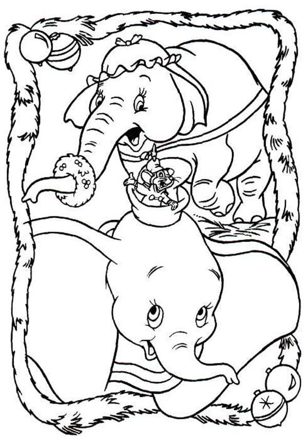 Dibujos de Navidad gratis de Disney
