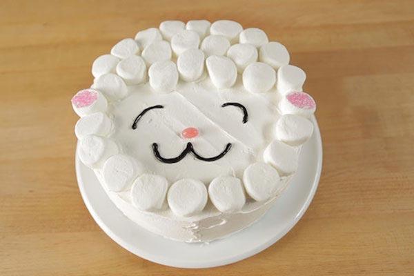 tartas cumpleaños faciles de animales
