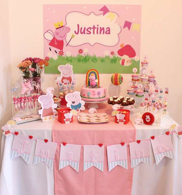 Fiesta de cumpleaños de Peppa Pig