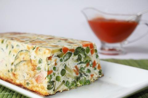 Pastel de Verduras Vegetariano