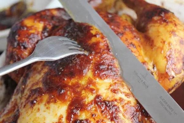 Receta de pollo con mazapan e higos