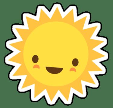 el sol y la piel del bebé