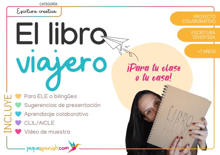 Escritura creativa para bilingües con el libro viajero