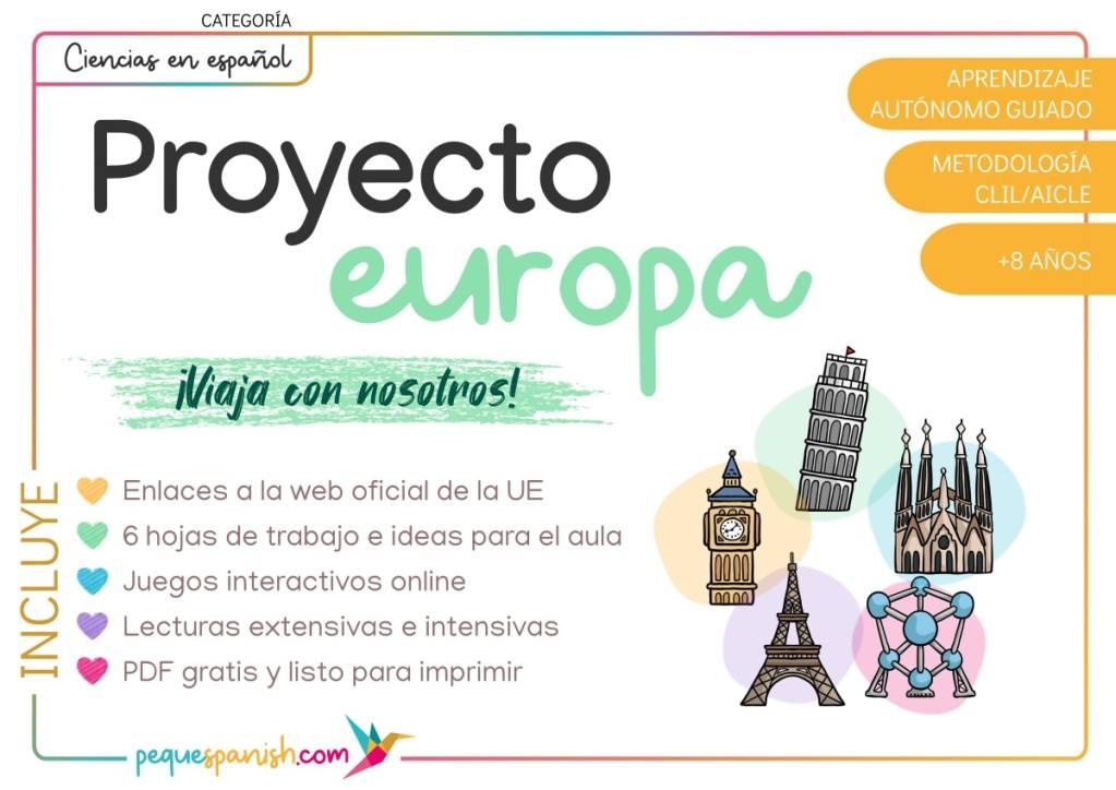 Aprende sobre Europa_Educación Primaria