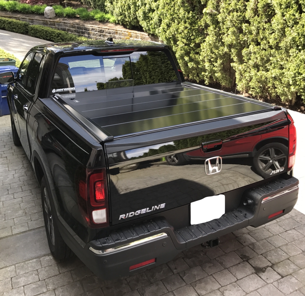 Honda Ridgeline Retractable Truck Bed Covers By Peragon