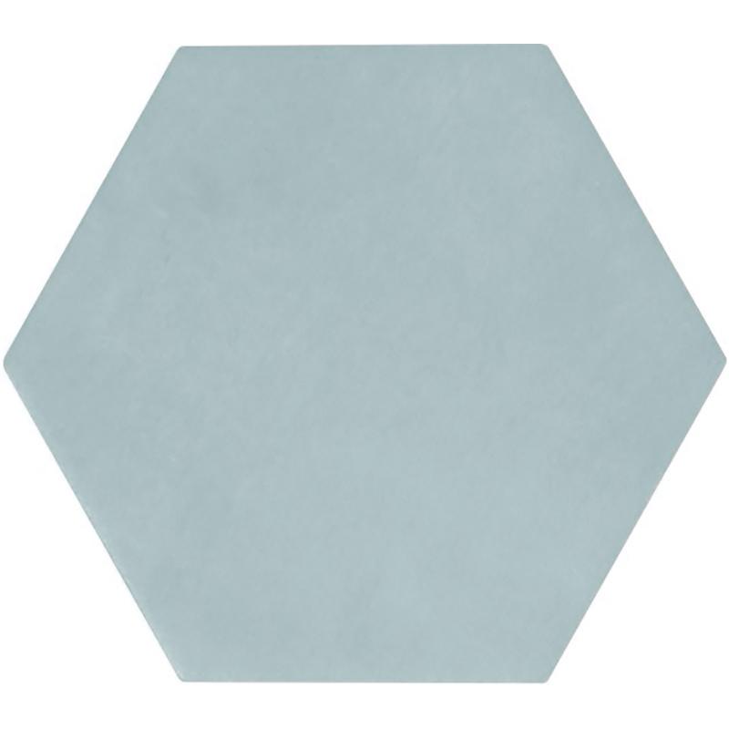switch 4x4 hexagon tile blue matte
