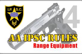 Rules AA IPSC Bagian 4 – Range Equipment