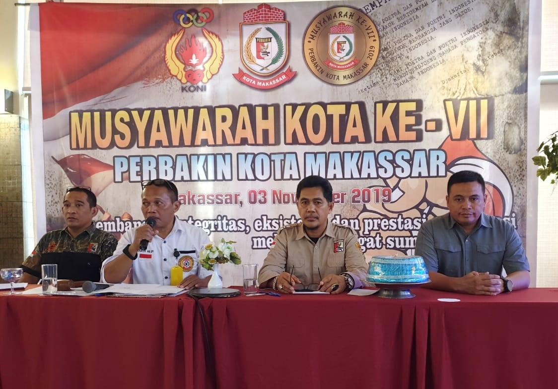 16 Klub Resmi Pilih Ketua Perbakin Kota Makasar