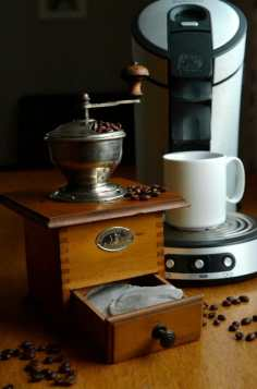 Nespresso et une Senseo