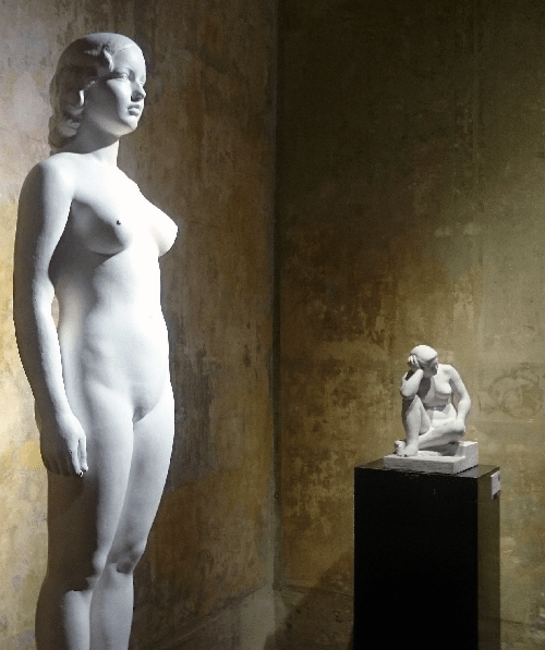 Exposición Josep Clarà al MEAM © Núria A.T