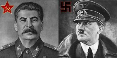 Image result for stalin hitler