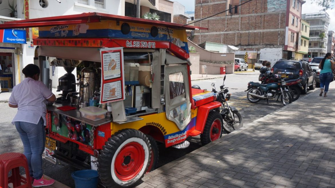 Coffee Jeep Willy in Pereira