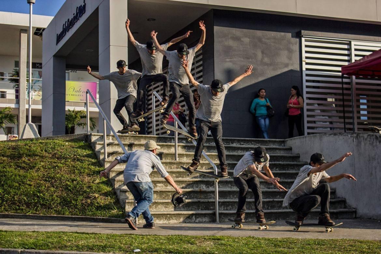 Bryan Oliver Biggest Skatepark in Colombia