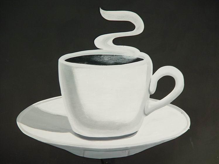 Un café con un amigo