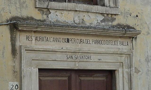 Portale SS Salvatore