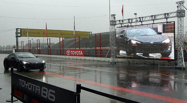El Toyota 86 ya esta en Argentina