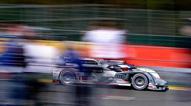 Audi copo el podio en Spa