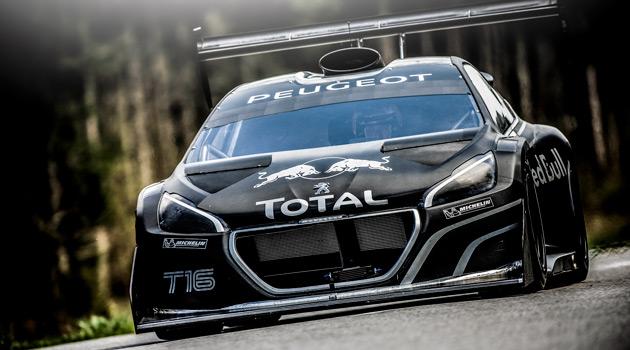 Peugeot se prepara para Pikes Peak con un 208 T16 y Loeb