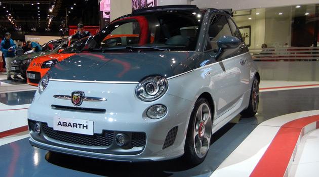 Fiat 500 Abarth Cabrio 595