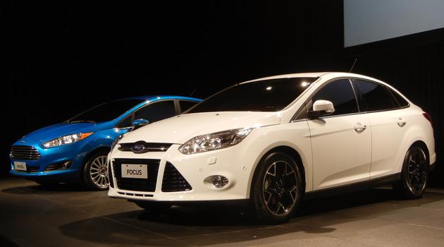 Ford adelanto los modelos para 2013